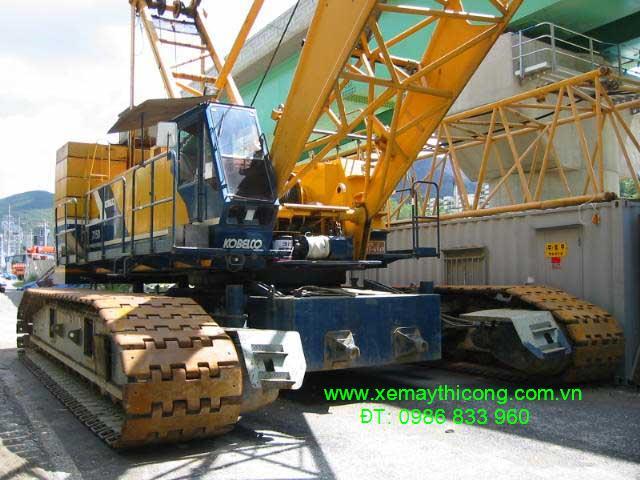 Cho thuê cần cẩu xích 150 tấn, Kobelco 7150